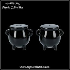 Peper en Zout Set Cauldrons - Black Magic Collectie