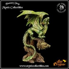 Beeld Forest Dragon Adult - Anne Stokes - Age of Dragons (Draak - Draken)