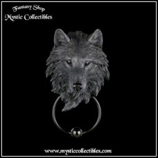 Deurklopper Dark Guardian Wolf (Wolven)