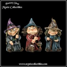 Beeldjes The Three Little Witches - Double Double - Toil & Trouble (Heks - Witch - Heksen)